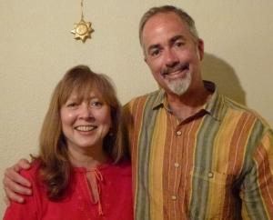 Carla Woody and Dr. Ross Dunbar