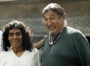 Don Antonio Martinez and Harold Joseph