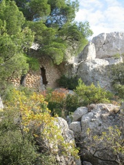 Cézanne's refuge on Ste. Victoire mountain.