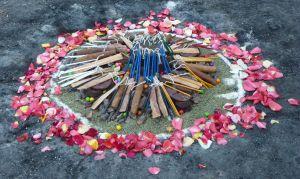 Fire Ceremony Altar