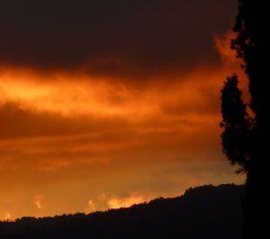 Sunset over San Cristóbal de Las Casas.