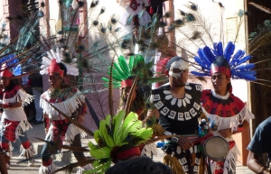 Processional during Festival of Our Lady of Guadalupe.©2012 Carla Woody.