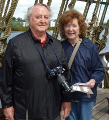 Glenn and Sue Woody on vacation in Ireland in 2012, both at the age of eighty.