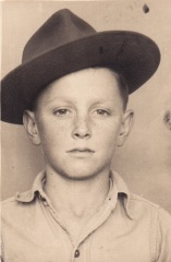 Glenn Woody at 14 years old.