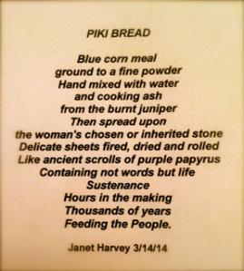 Piki Bread