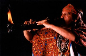 Fire flute