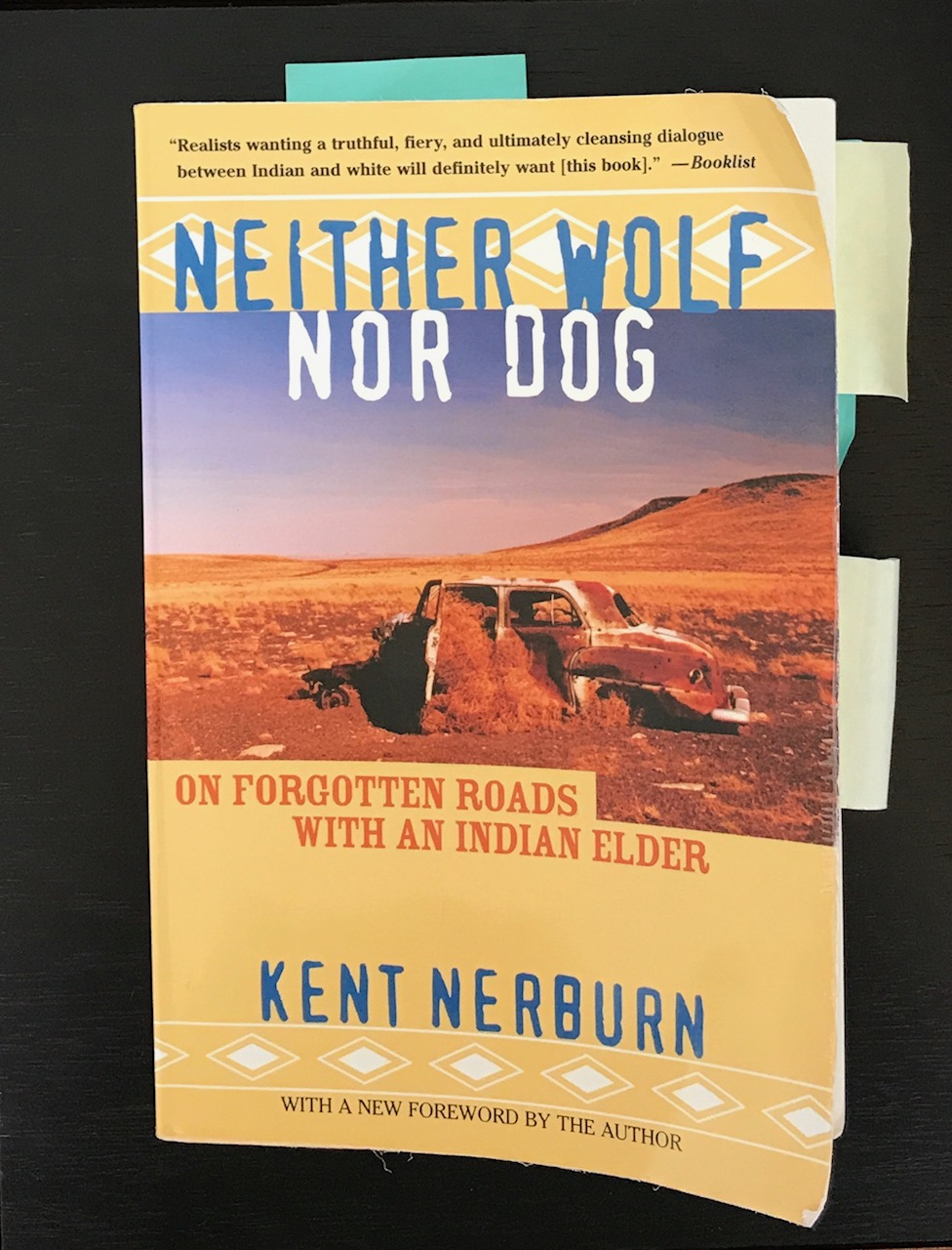 neither wolf nor dog book
